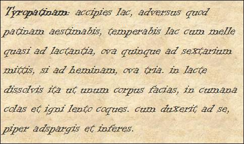 Pequeño Ldn Tyropatina Un Postre Romano